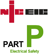 niceic Logo - Part P Electrical Safety Logo