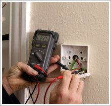 Electrical test, test meter